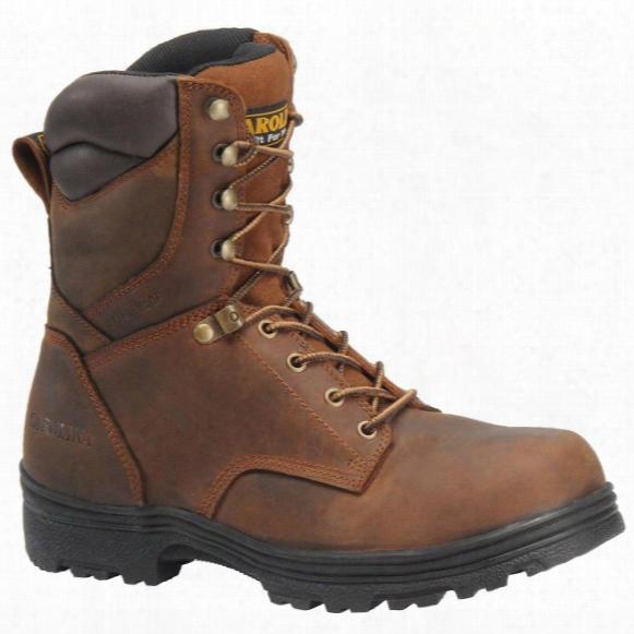 "Men's Carolina& #174; Svb 8"" Steel Toe Waterproof Work Boots, Copper"