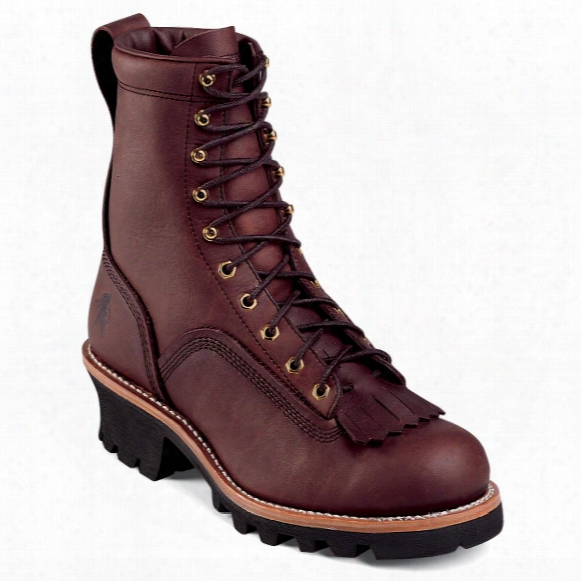 "Men's Chippewa® 8"" Oiled Loggers"