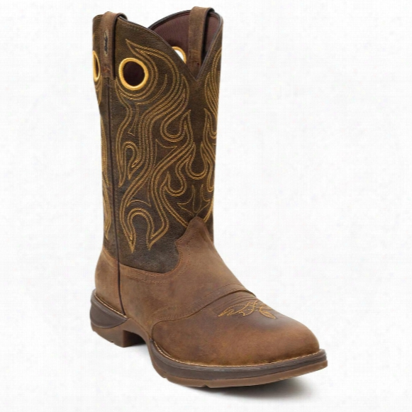 "Men's Durango® 12"" Rebel Saddle Boots"