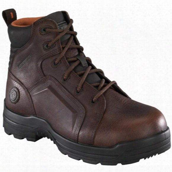 Men's Rockport Works Rk6640 Work Boots, Brown