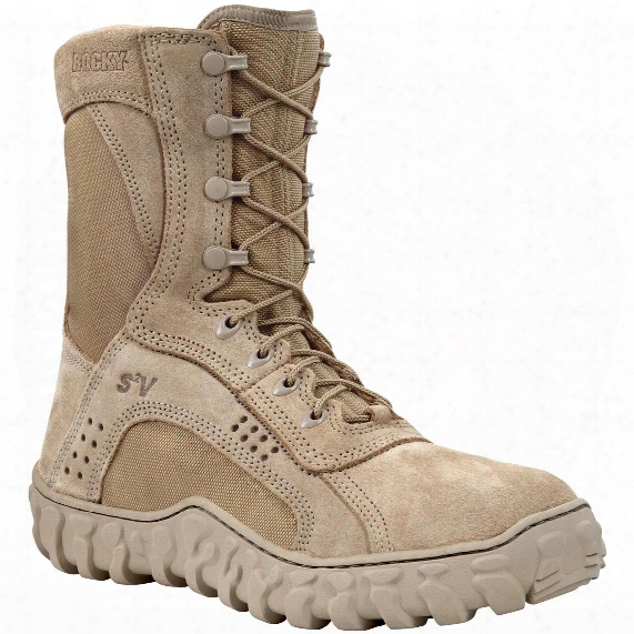 Men's Rocky® S2v Steel Toe Military Boots