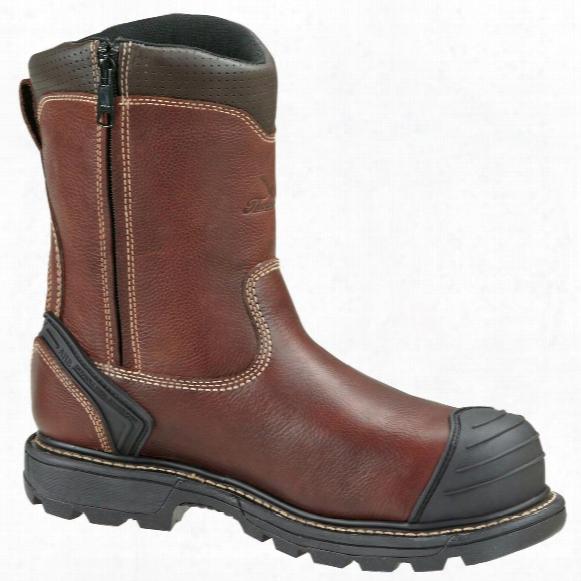 Men's Thorogood® 8&quo T; Side - Zip Composite Toe Wellington Work Boots, Brown