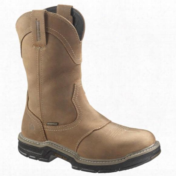 "Men's Wolverine® 10"" Anthem Waterproof Wellington Boots, Brown"