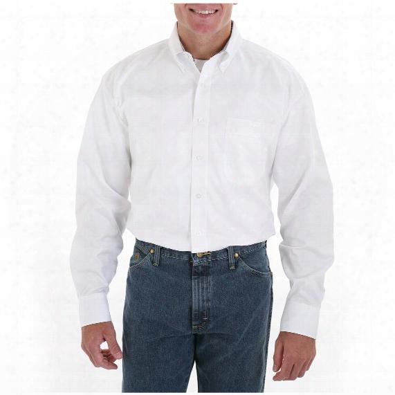 Men's Wrangler® George Strait Shirt, White