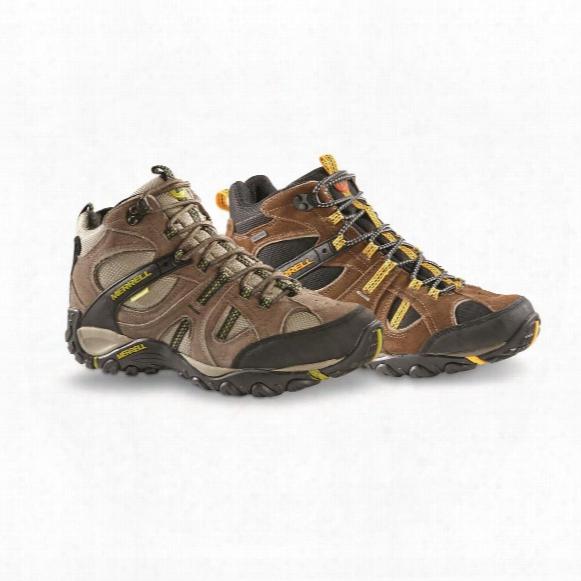 Merrell Men's Yokota Trail Mid Waterproof Hiking Shoes