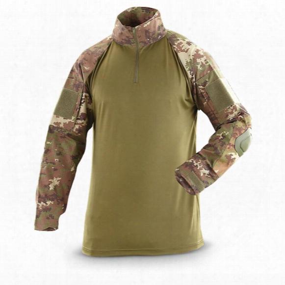 Mil-tec Men's Military Surplus Arid Camo Combat Shirt