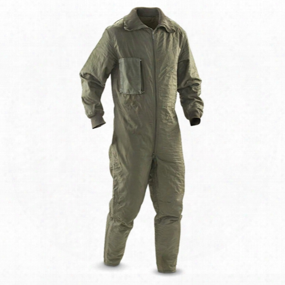Mil-tec Military Surplus Tanker Coveralls Liner, New