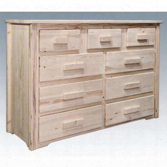 Montana Woodworks® Homestead Collection 9 - Drawer Dresser
