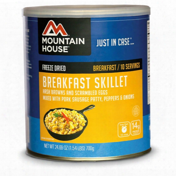 Mountain House Emergency Food Freeze-dried Breakfast Skillet, 10 Servings