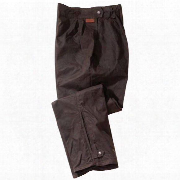 Outback Trading® Oilskin Overpants, Brown