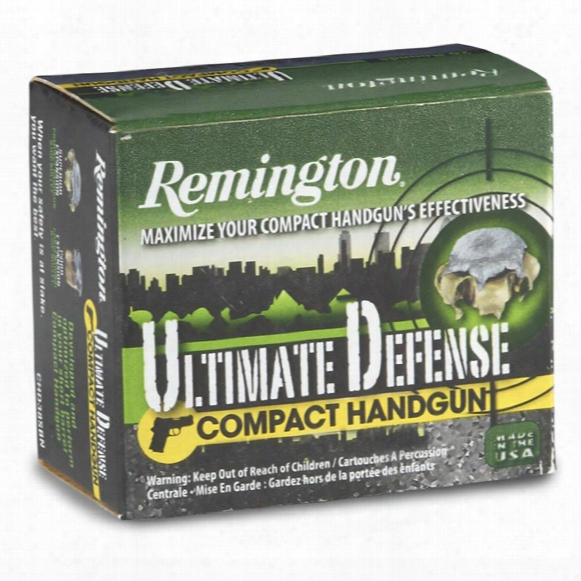 Remington, .38 Special +p, Bjhp, 125 Grain, 20 Rounds