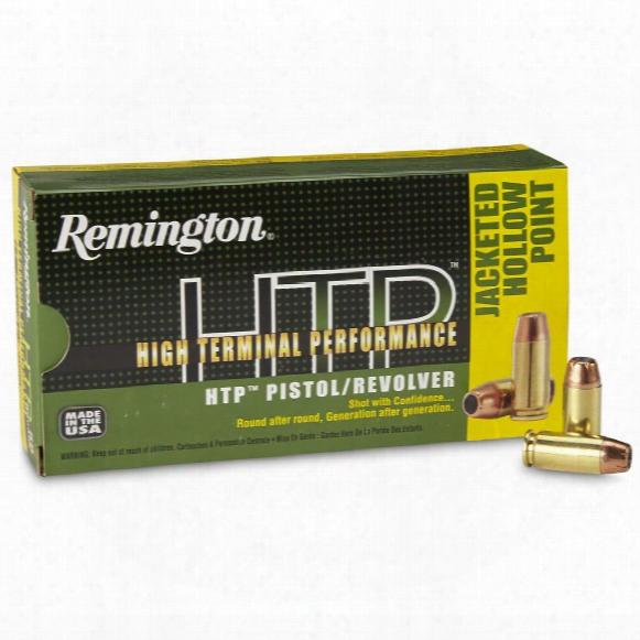Remington, .40 S&w, Jhp, Htp, 155 Grain, 50 Rounds