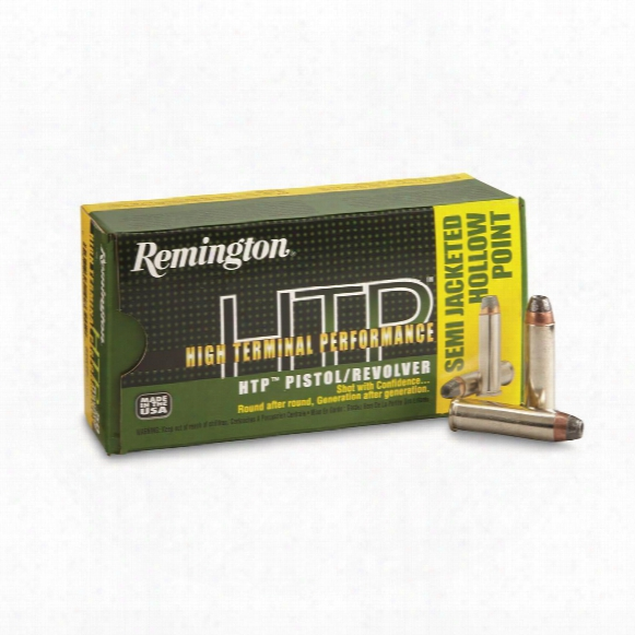 Remington High Terminal Performance, .357 Magnum, Sjhp, 180 Grain, 50 Rounds