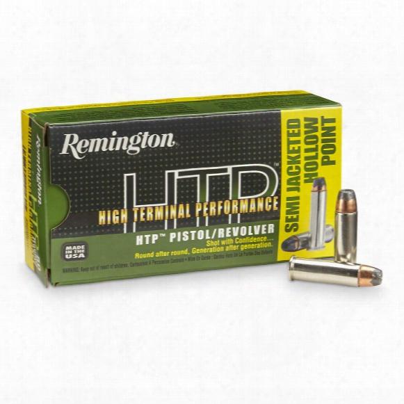 Remington High Terminal Performance, .38 Special + P, Sjhp, 110 Grain, 50 Rounds