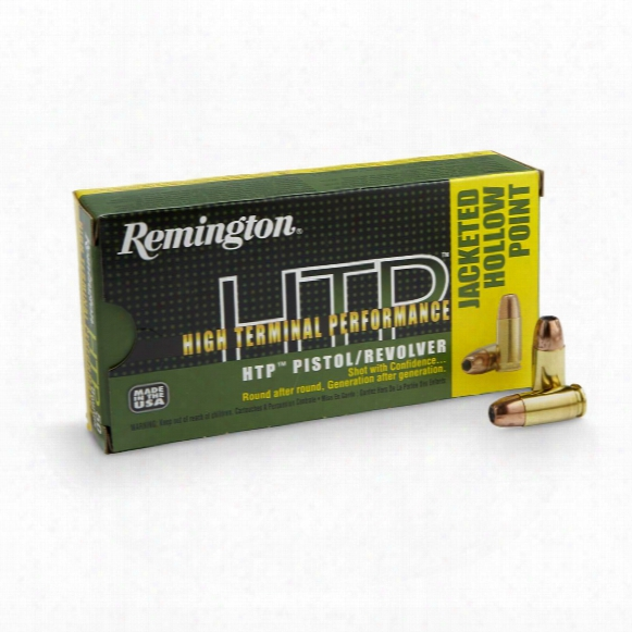 Remington High Terminal Performance, 9mm Luger, Jhp, 115 Grain, 50 Rounds