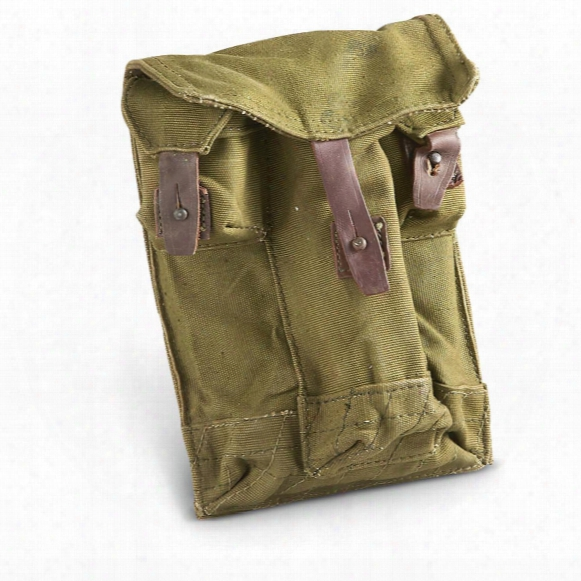 Romanian Miilitary Surplus Ak47 Pouches, 2 Pack, Used