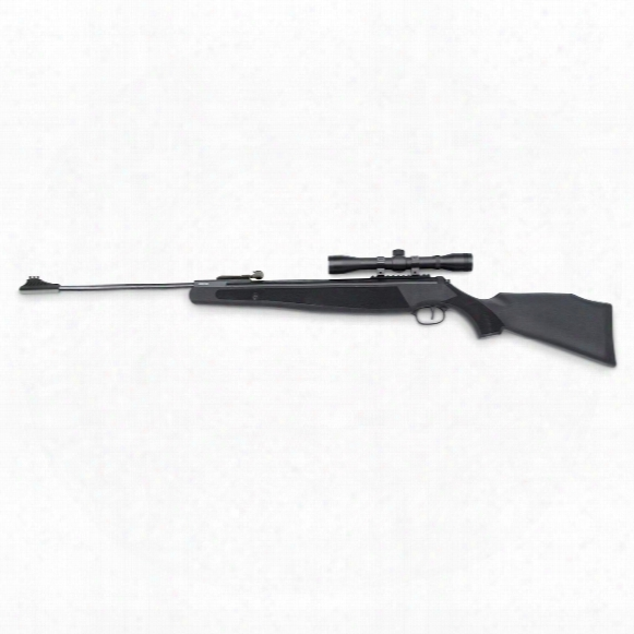 Ruger Air Magnum Break Barrel Spring Piston Air Rifle, .22 Caliber, 4x32mm Scope, Automatic Safety