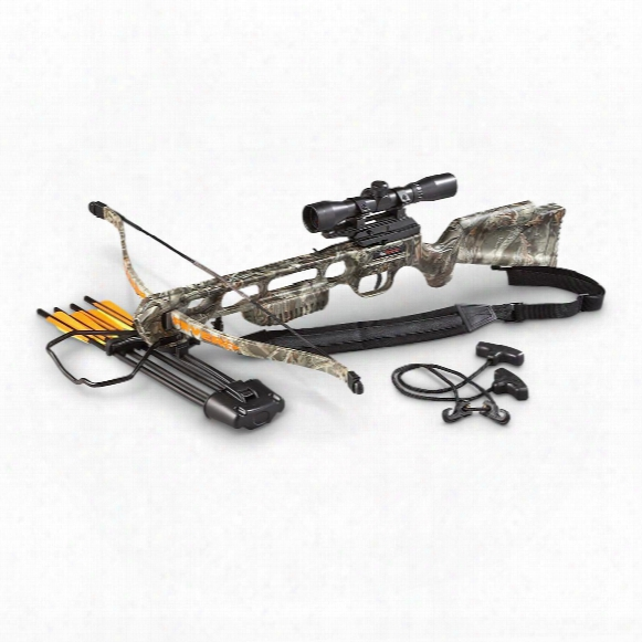 Sa Sports 175&#8209lb. Fever Crossbow Package, 4x32mm Scope