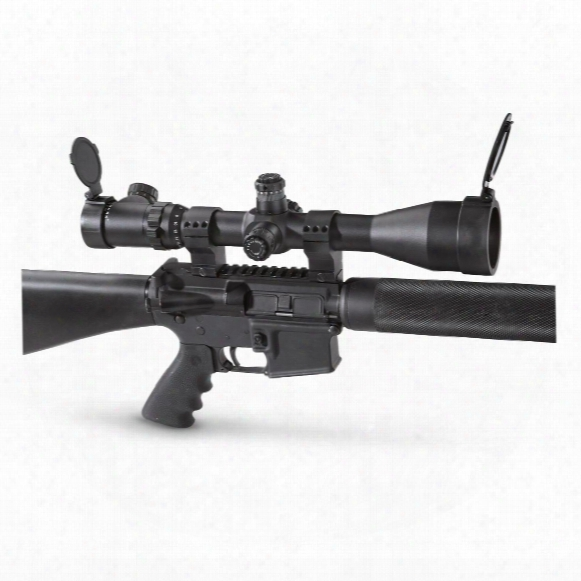 Sightmark Triple Duty 6-25x56mm Mil-dot Rifle Scope, Matte Black