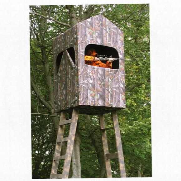 Smithworks Outdoors Comfortquest Hunting Blind, 4' X 4'