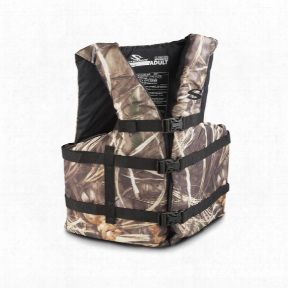 Stearns® Adult Oversized Type Iii Camo Life Jacket