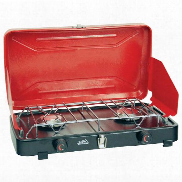 Texsport® Compact Dual Burner Propane Stove