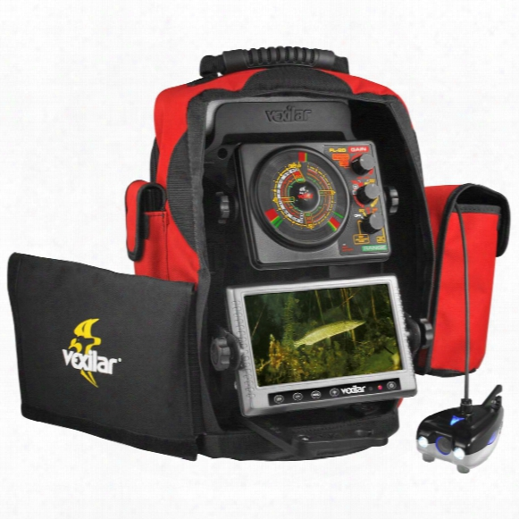 Vexilar Fsdv20-dt Ifsh Scout Double Vision Camera / Monitor System With Dtd Sensor & Fl-20 Flasher Combo Pack