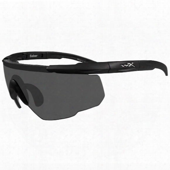 Wiley X® Saber Advanced Sunglasses, Single Lens Package