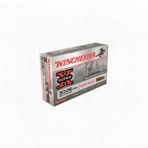 Winchester, Super-x, .30-06 Springfield, Lead Free, 150 Grain, 20 Rounds