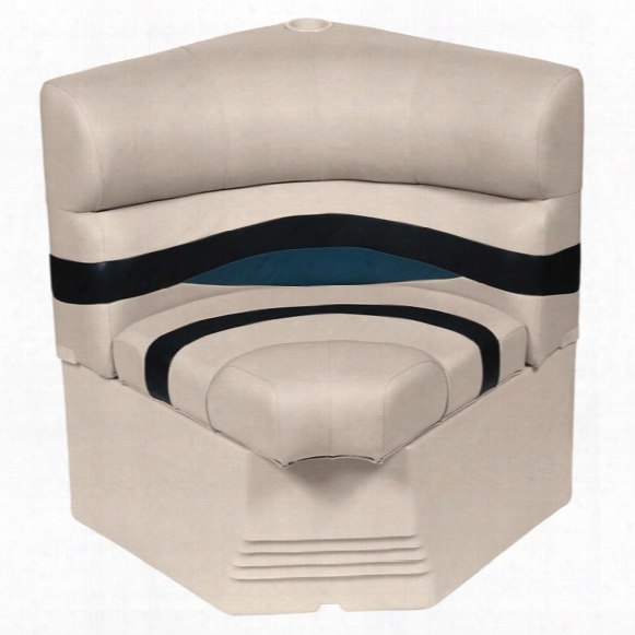 "Wise Premier Pontoon 25"" Radius Corner Section Seat"