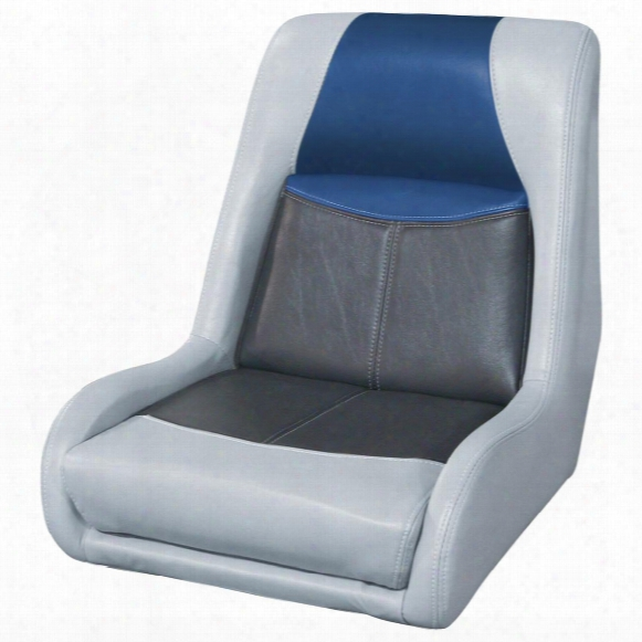 Wise® Blast - Off Series Swept Back Bass Bucket Seat