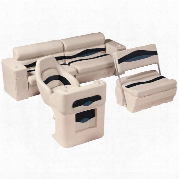 Wise® Premier Pontoon Traditional Rear Seat Group