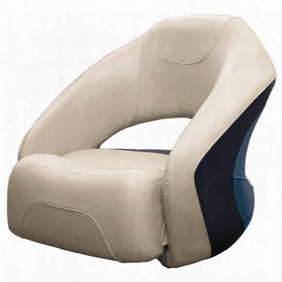 Wise® Premier Pontoon Bucket Seat With Flip-up Bolster