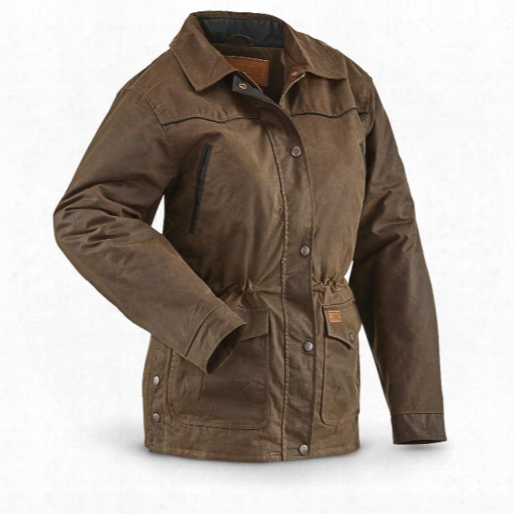 Women's Round Up Jacket From Outback Trading Company, Bronze