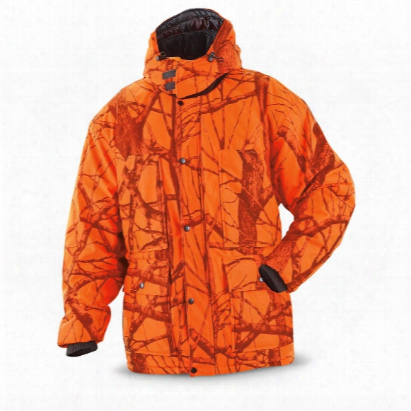 World Famous Sports Waterproof Breathable Camo Parka, Blaze Woodland