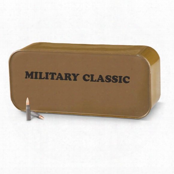 Wpa Military Classic, 7.62x39mm, Fmj, 123 Grain, 700 Rounds With Tin
