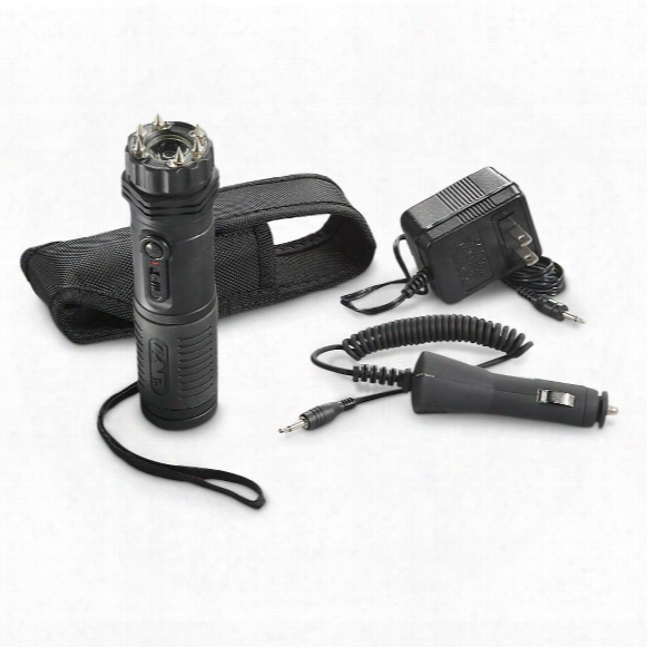 Zap Extreme Light 1 Million Volt Rechargeable Stun Gun & Flashlight