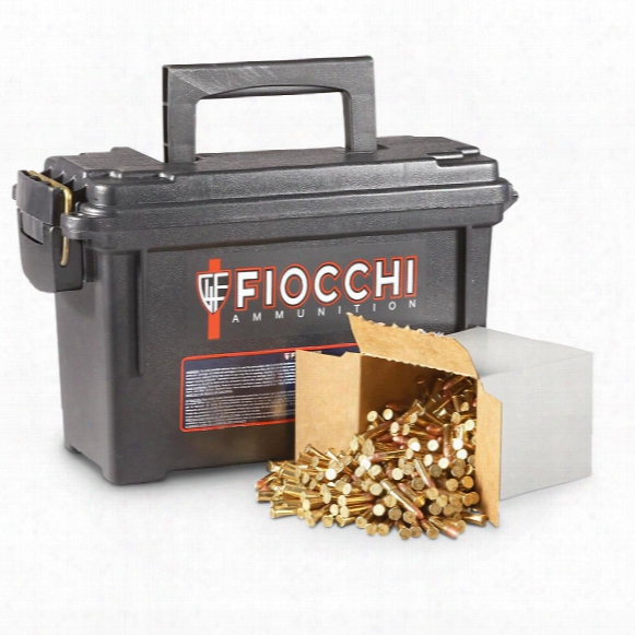 1,575 Rds. Fiocchi .22lr 40 Grain Plated Lead Round Nose Bullet