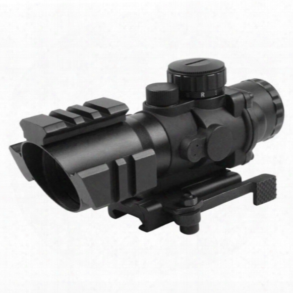 Aim Sports 4x32 Tri-illuminated Scope With Tri-weaver Rails
