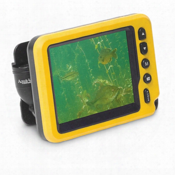 Aqua-vu Av Micro Ii Underwater Camera System Sonar Fish Finder