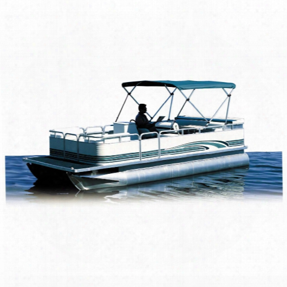"Attwood Pontoon Bimini Top 1 1/4"" Square Tubing 4-bow Frame"