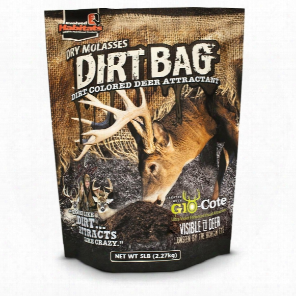 Bag Of Evolved Habitats Dirt Bag Deer Attractant, 5 Lbs.