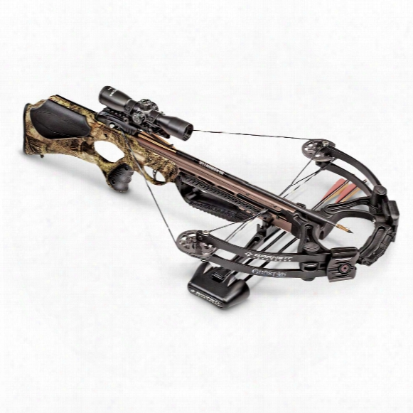 Barnett Ghost 385 Crossbow, 3x32mm Scope, 185-lb. Draw Weight
