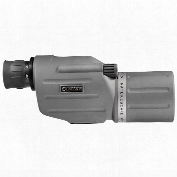 Barska 15-45x50mm Waterproof Naturescape Spotting Scope