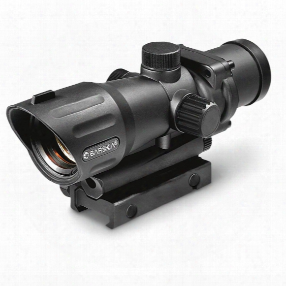 Barska M-16 Electrosight, 1x30mm, Red Illuminated Cross, Rifle Scope