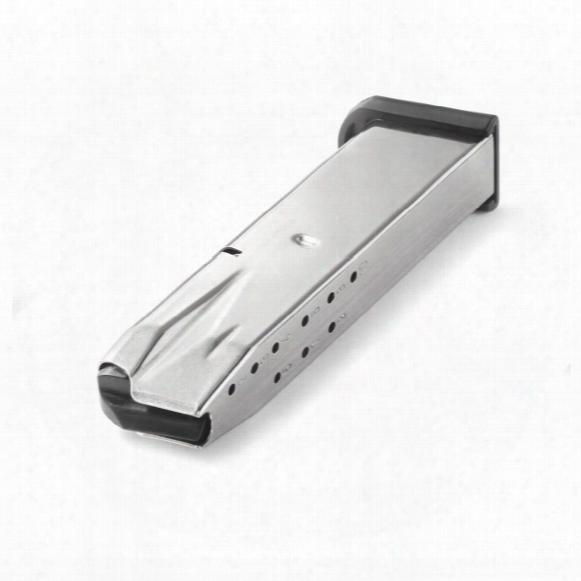 Beretta 92fs M9 (nickel) Mec-gar, 9mm Caliber Magazine, 10 Rounds