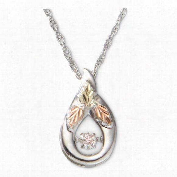 Black Hills Gold 1/10 Ct. Twinkling Diamond Necklace
