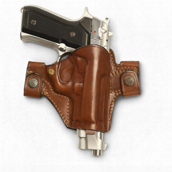 Cebeci Leather Snap Holster, Beretta 92f, Taurus Pt92/pt99