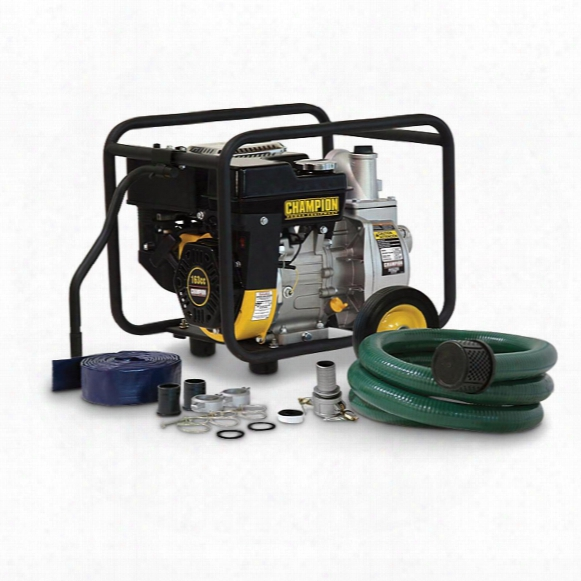 Champion® Semi-trash Transfer Pump With Hose Kit