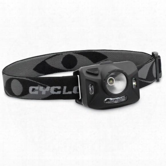 Cyclops Ranger Xp 126-lumen 4-stage Headlamp, Black